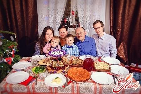 празднование в семейном кругу