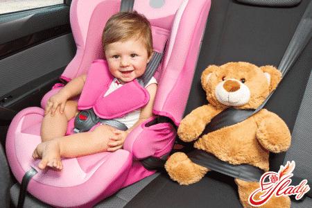 Безопасное автокресло