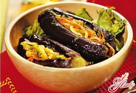 баклажаны во вкусном маринаде