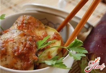 маринованные баклажаны по китайски