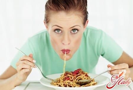 для прибавления веса следует чаще есть