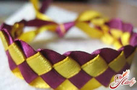 плетение квадратным способом