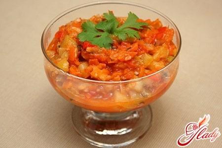 вкусное лечо с рисом