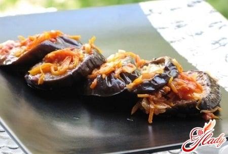 разные рецепты мариновки баклажанов