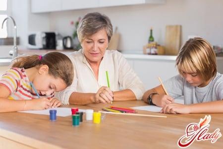 Воспитание детей с няней