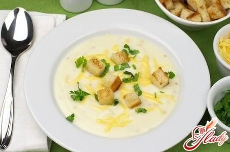 вкусный крем суп с цветной капустой