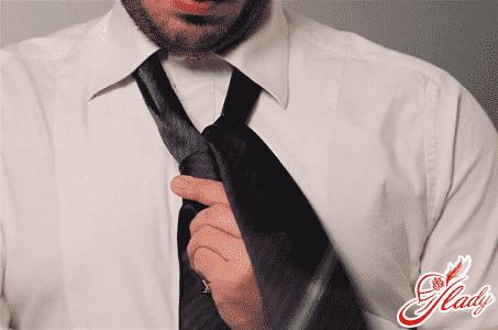 простой способ завязывания галстука