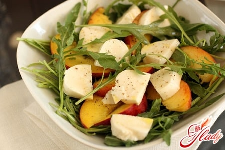 вкусный сырный салат