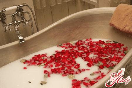 Расслабляющая ванна