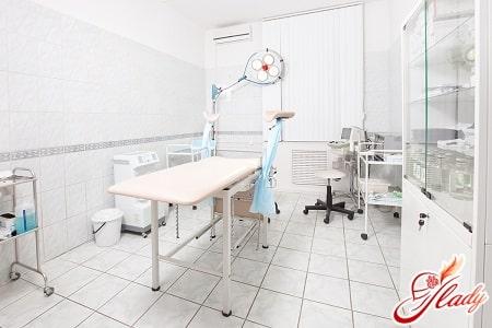 операционная для проведения процедуры