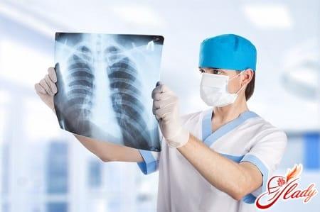 боль в груди в дыхательных путях