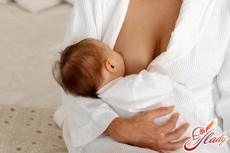 боль в груди при кормлении ребенка