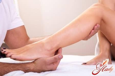 массаж ног для уменьшения боли в пояснице