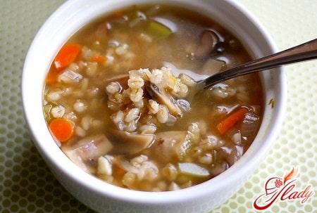 постный рецепт грибного супа
