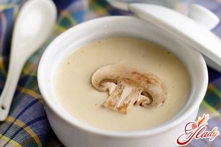 Суп из грибов: лучшие рецепты