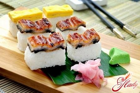 правильный рис для суши