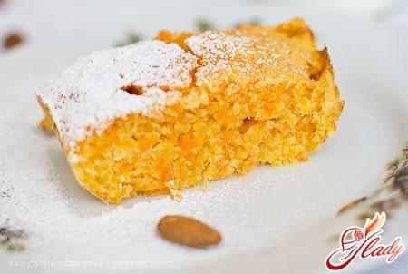 простой рецепт морковного пирога в мультиварке