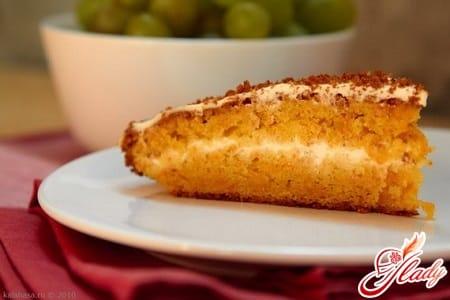 рецепт морковного пирога
