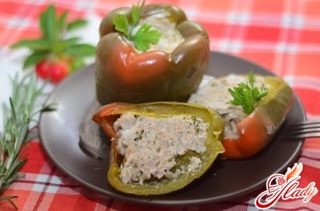 простые рецепты болгарского фаршированного перца в мультиварке