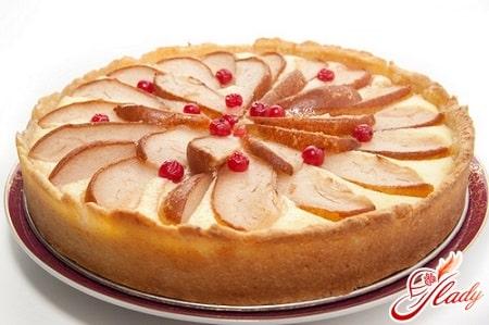 яблочно - грушевый пирог
