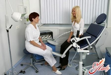 консультация с гинекологом