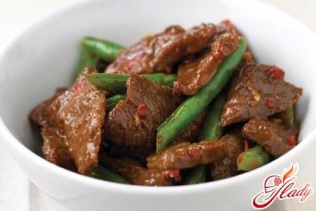 рецепты мяса со сливовым соусом