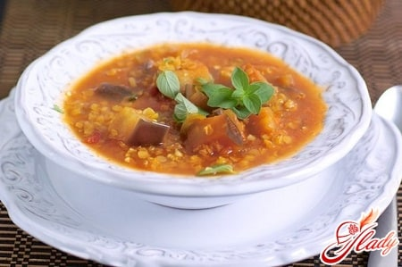 вкусный суп из баклажанов