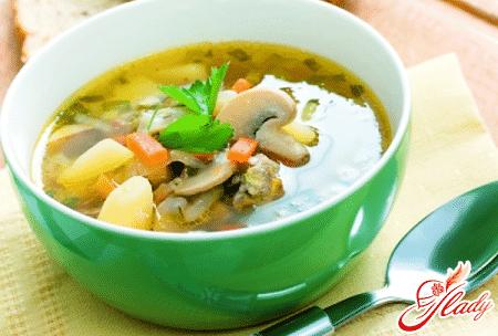 суп с баклажанами и картофелем