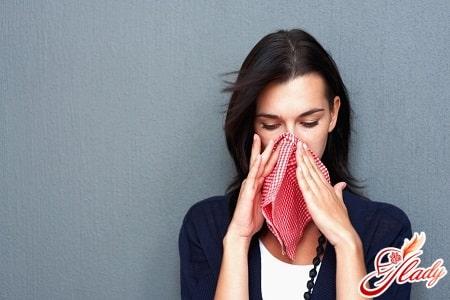 аллергическая реакция на раздражители