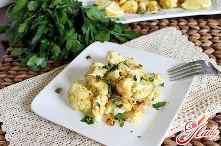 разные рецепты тушеной цветной капусты