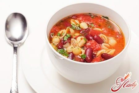 Фасолевый суп – полезное и питательное блюдо в любое время года