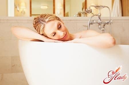 ванны для облегчения симптомов геморроя