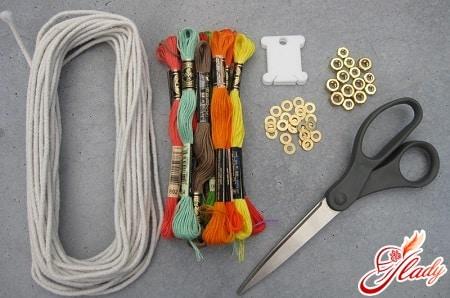 материалы для плетения фенечек из мулине