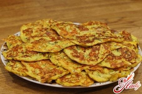 Пышные оладьи из кабачков: рецепт приготовления