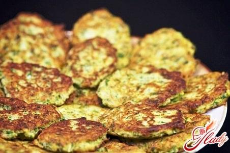 рецепт кабачковых оладьев