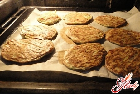 оладьи из кабачков рецепт в духовке с фото
