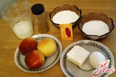 ингредиенты для фруктового пирога