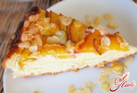 разные рецепты фруктового пирога