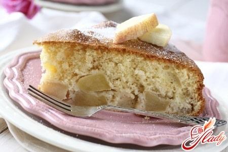 рецепт пирога с яблоками в мультиварке