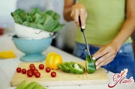 овощи для питания во время беременности