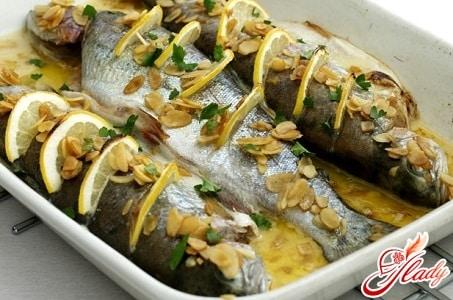 рыба форель в духовке рецепты с фото