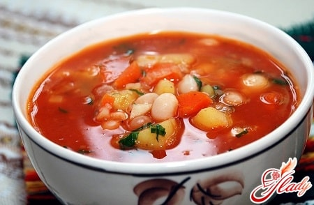 Рецепт супа из красной консервированной фасоли 120