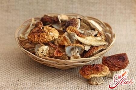 определение готовности грибов
