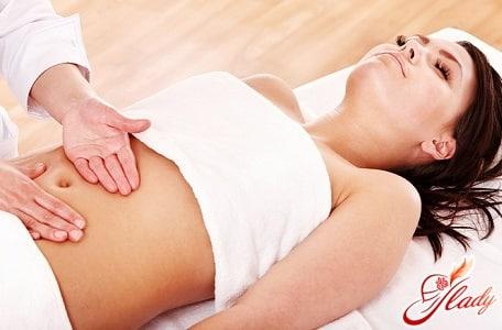 правильный массаж матки