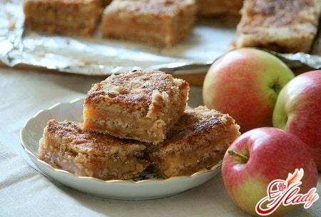 советы по приготовлению сухого яблочного пирога