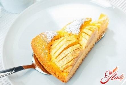 простой рецепт пирога с яблоками и бананами