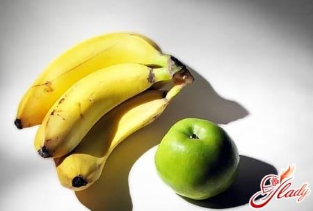 быстрый рецепт приготовления бананового пирога с яблоками
