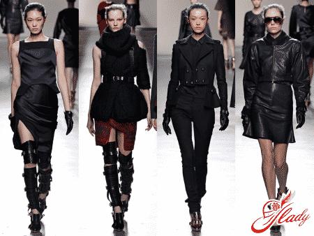 Модные тенденции сезона осень-зима 2014