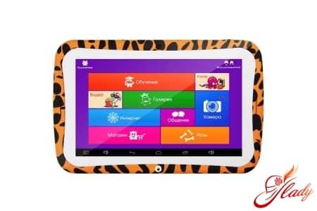 Игры и обучение на детском планшете