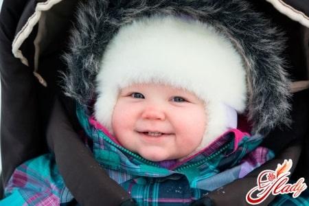 Теплая одежда для малыша